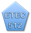 Picturebutton to ETEC 512 course page