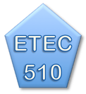 Picturebutton to ETEC 510 course page